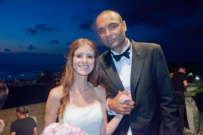 Lilly and Isaac at their Beautiful and Elegant Wedding in Caesaria Israel