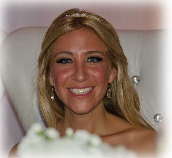 Ilana at her Wedding