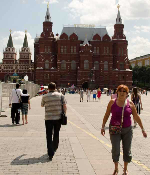 Red Square, Moskva Russia
